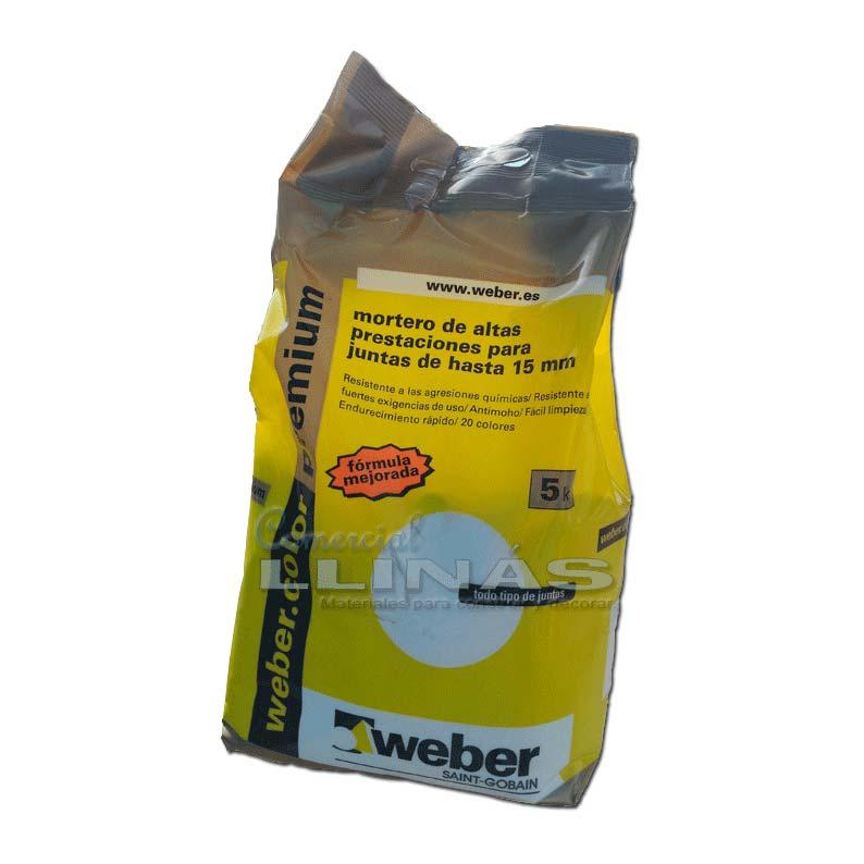 Weber premiun lechada alta resistencia 5 kg comercial llin s for Productos sika para piscinas