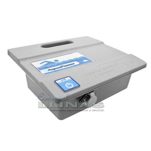 Limpiafondos electrónico piscinas Aquabot K200. Transformador