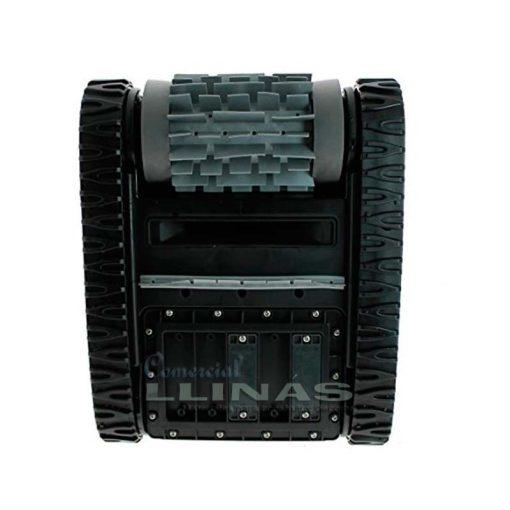 Distribuidor Zodiac online recomendadoLimpieza de fondo de piscinas enterradas privadas y piscinas desmontables con paredes rígidas de hasta 8 x 4 m. Ciclo de limpieza de 2 horas de duración. Filtro rígido de fácil acceso por la parte superior del limpiafondos. Diseño compacto y ligero. Incluye unidad de control Plug & Play con soporte. Rodillo con anillos de PVA integrados para una máxima adherencia sobre todo tipo de revestimientos. Bajo
