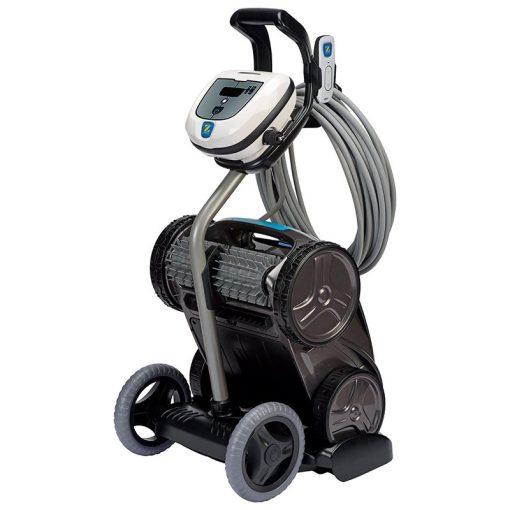 Robot limpiafondos piscina Zodiac Vortex OV 3505. Carrito