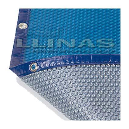 Manta t rmica o cobertor burbujas para piscina comercial for Precio cobertor piscina