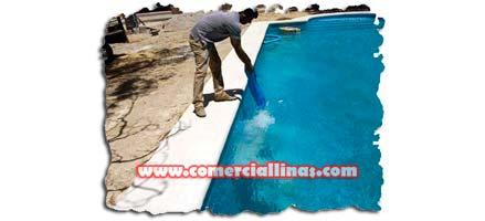 Mantenimiento de una piscina con clorador salino