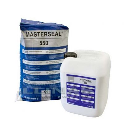 MasterSeal 550 mortero elástico color gris