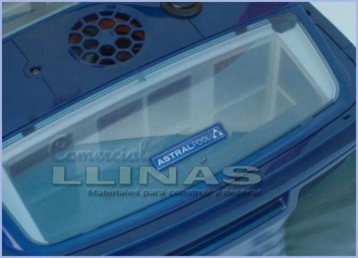 Limpiafondos Max+ 3 AstralPool. Tapa filtro