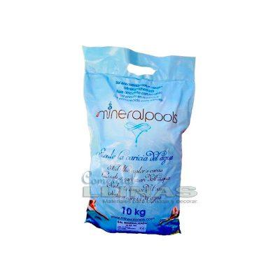 Mineralpools sal enriquecida cloración salina saco 10 kg