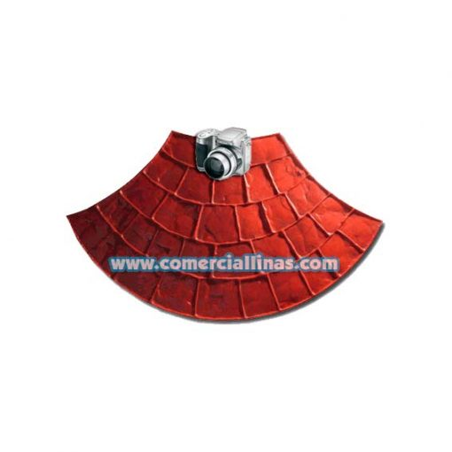 Molde hormigón impreso Abanico Europeo