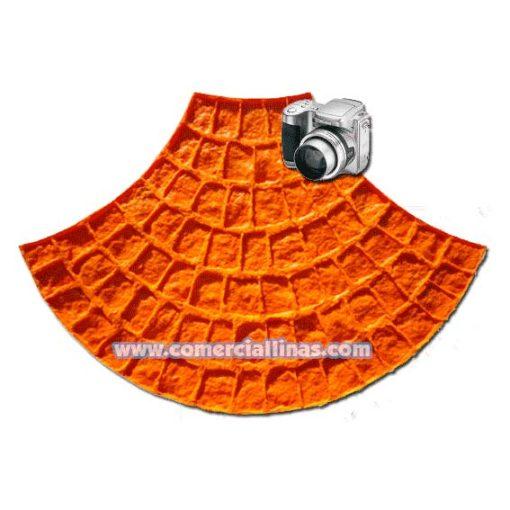 Molde hormigón impreso Abanico Palermo