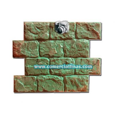 Molde hormigón impreso Bloque muro