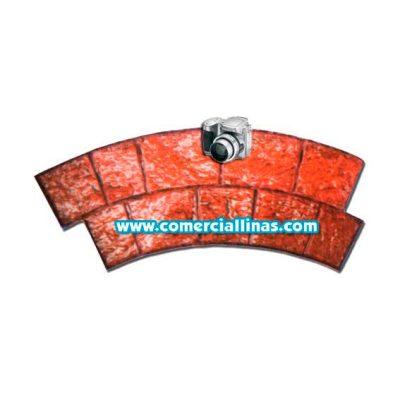 Molde hormigón impreso Cenefa Piedra Circular
