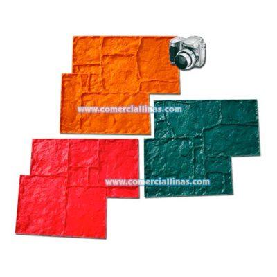 Molde hormigón impreso Apeninos combinables