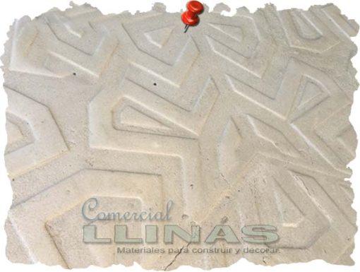 Molde hormigón impreso Losa Sicodelia. Ejemplo