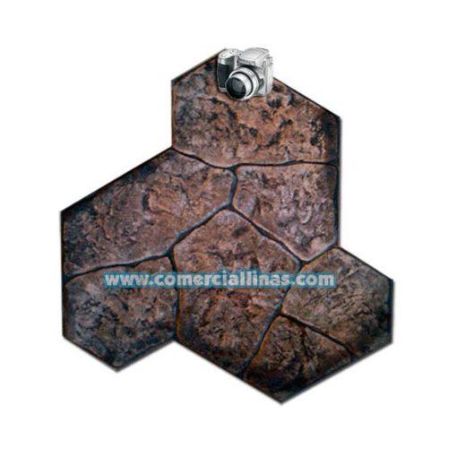 Molde hormigón impreso Piedra Argel
