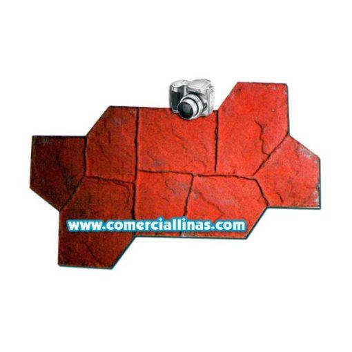 Molde hormigón impreso Piedra Castillo