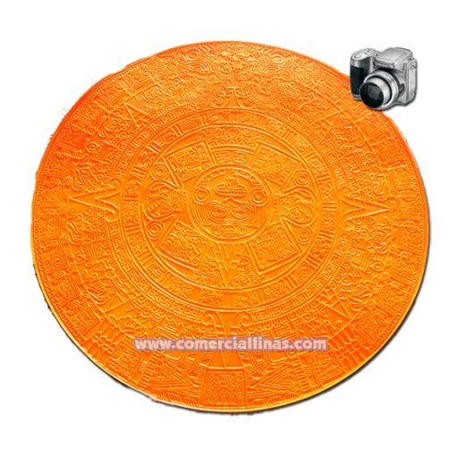 Molde hormigón impreso Circular Maya