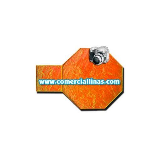 Molde hormigón impreso Tarima octogonal II