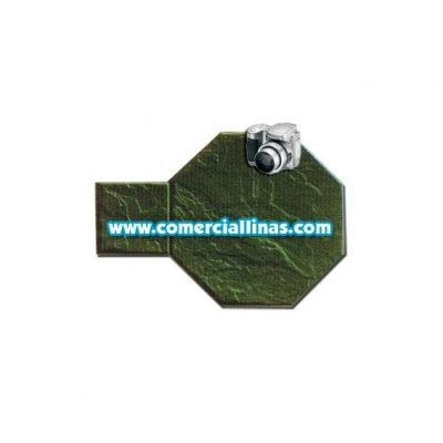 Molde hormigón impreso Tarima octogonal III