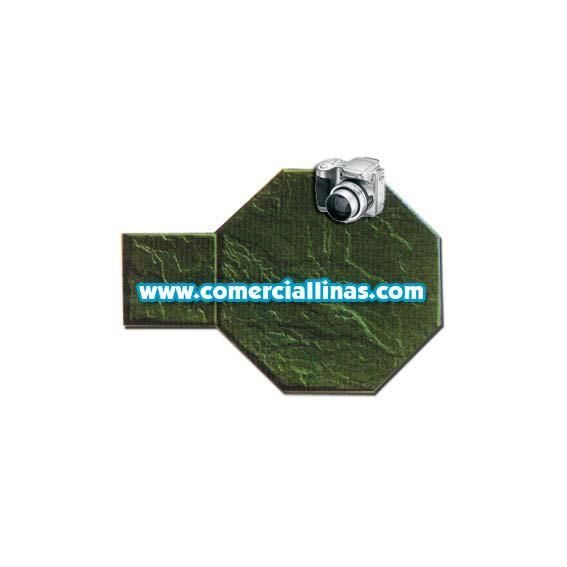 Molde hormig n impreso tarima octogonal iii comercial llin s for Limpiar hormigon impreso