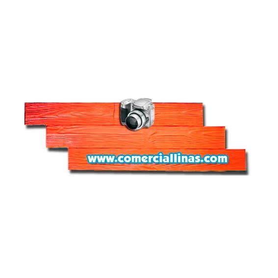 Molde hormig n impreso tarima pino i comercial llin s for Limpiar hormigon impreso