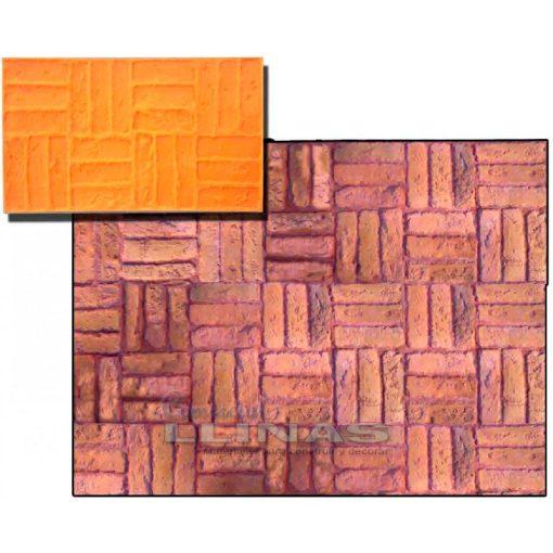 Ejemplo Molde hormigón impreso Ladrillo Alhambra