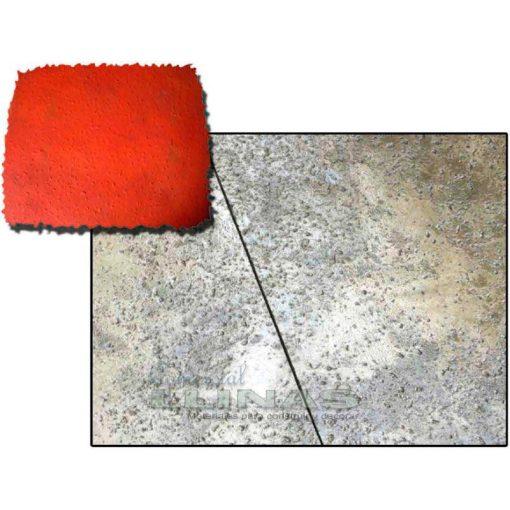 Ejemplo Molde hormigón impreso Manta Piedra Almería