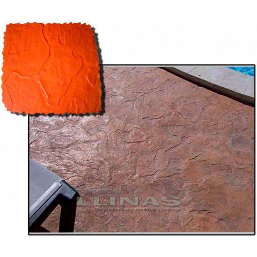 Ejemplo Molde hormigón impreso Manta Piedra Arizona