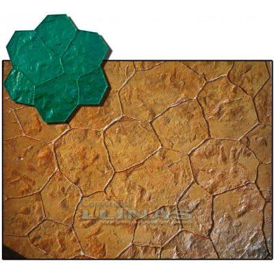 Molde Hormigón Impreso piedra Atenas.