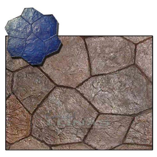 Ejemplo Molde hormigón impreso Piedra Cantera Molina
