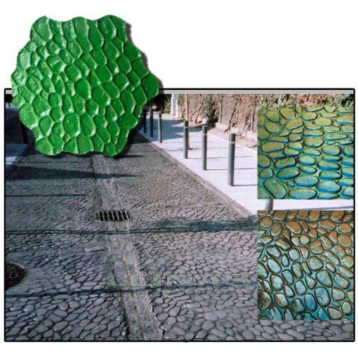 Ejemplo Molde hormigón impreso Piedra Río
