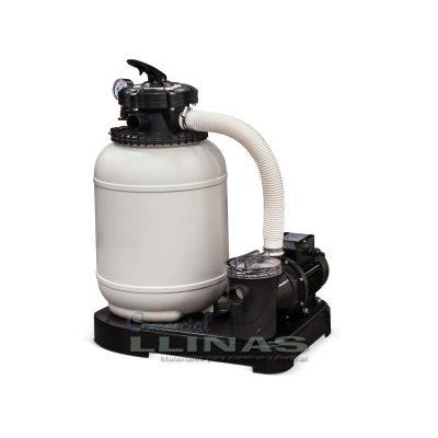 Monobloc piscina filtro D.300 y 4 m3 por Hora