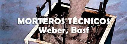 Morteros técnicos, weber, basf
