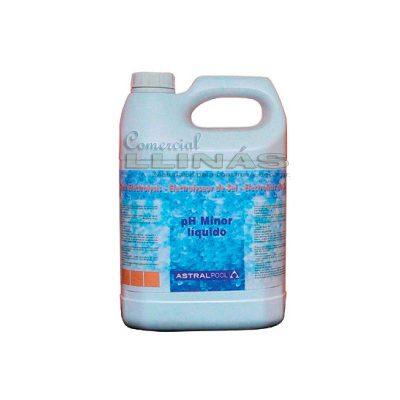pH Minor líquido AstralPool para electrólisis de sal