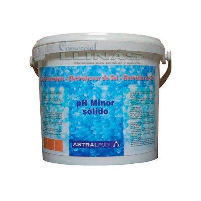 Ph Minor sólido AstralPool para electrólisis de sal