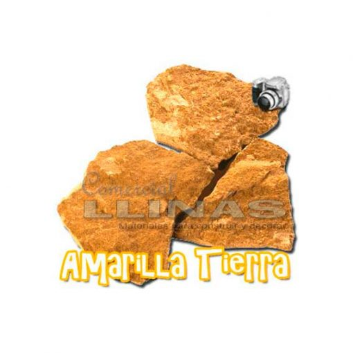 Piedra natural irregular Amarilla Tierra
