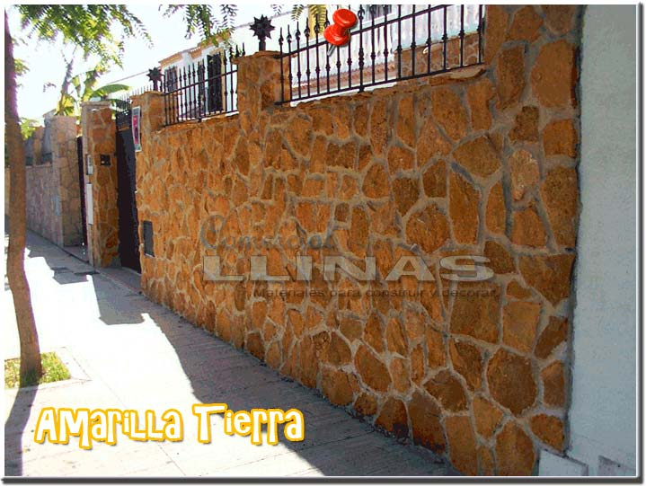 Colocar piedra natural en pared interesting textura de - Colocar piedra natural ...