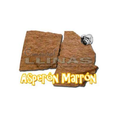 Piedra natural irregular Asperón Marrón