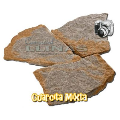 Piedra natural irregular Cuarcita Mixta