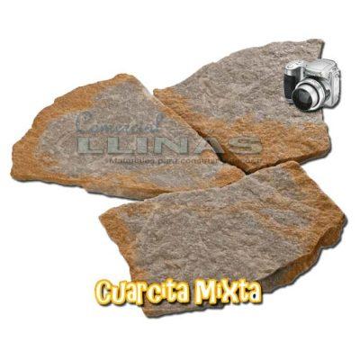 Piedra natural irregular Cuarcita Mixta
