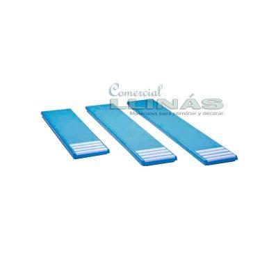 Plataforma trampolín piscina
