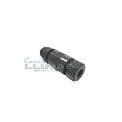 Portaelectrodos para tubería de presión