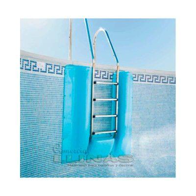 Protector escalera piscina de 109 x 43 x 20 cm