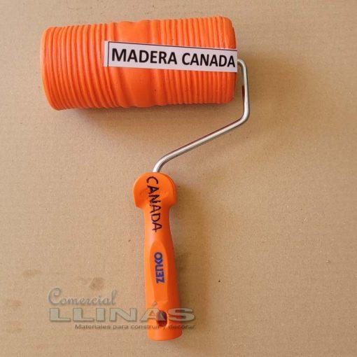 Rodillo texturizado reparación Madera Canadá