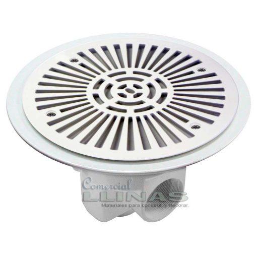 Sumidero circular piscina Ø 270 mm con rejilla ABS AstralPool