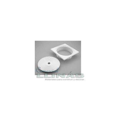 Tapa skimmer circular con aro AstralPool