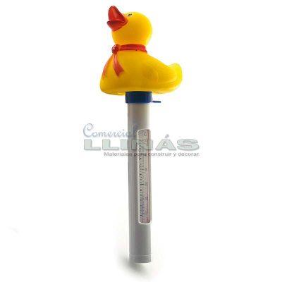 Termómetro flotante Pato para piscina