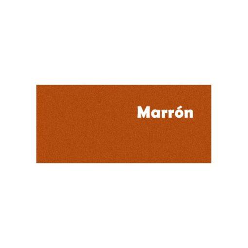 Weber floor print marron