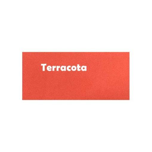 Weber floor print terracota